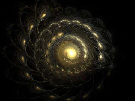 volute: Spiral fractal galaxy is a complex fractal image
