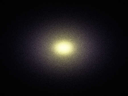 startrek: Elliptical galaxy theoretical reconstruction. This type galaxy is a very giant stellar system. Stock Photo