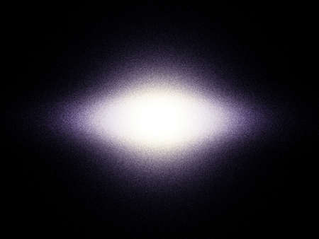 Lenticular galaxy theoretical reconstruction. This type galaxy is a very giant stellar system. photo