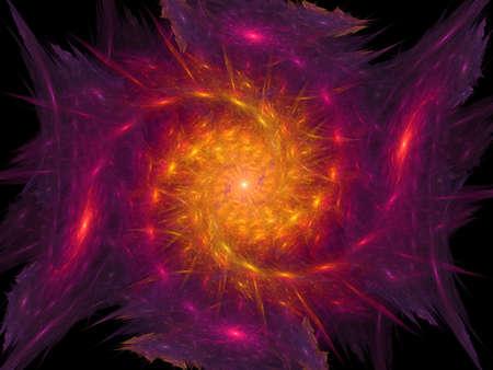 Big spiral is a computer generated image for elegant background o hi-tech design Reklamní fotografie