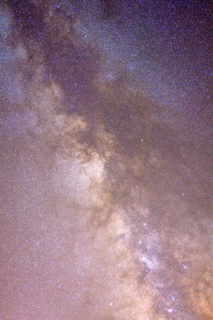 startrek: A suggestive image of Milkway; astronomical image. Stock Photo