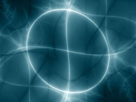 imaginary line: Modern hitech design is a illustration for web application or desktop background Stock Photo