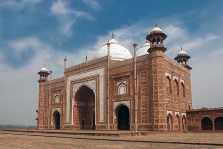 The mosque next to the Taj Mahal Banco de Imagens