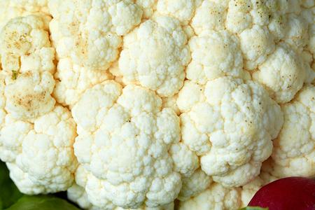 Cauliflower close-up