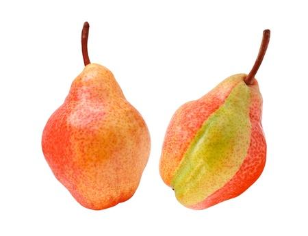 pear isolated on white background photo