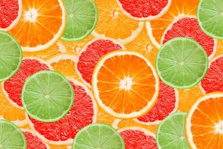 citrus slices background photo