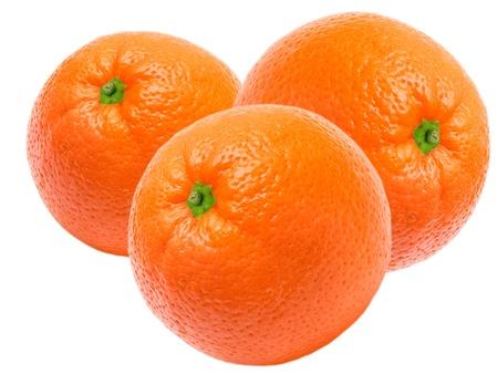 orange isolated on white background Stock Photo - 10575111