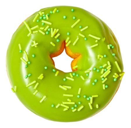Donut isoliert auf weißem Hintergrund Standard-Bild