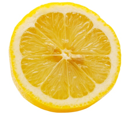 Lemon isolated on white background Stock Photo - 10718962