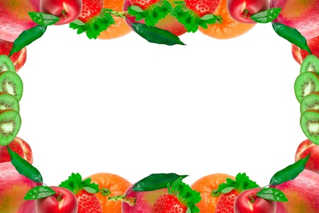 Fruit frame photo