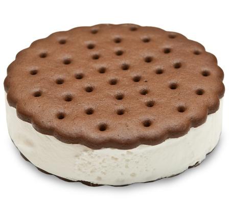 ice cream isolated on white background Stock Photo - 12609004
