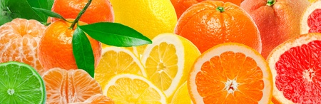 Citrus fruits background Stock Photo - 12609027