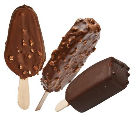 ice cream isolated on white background Stock Photo - 12860652