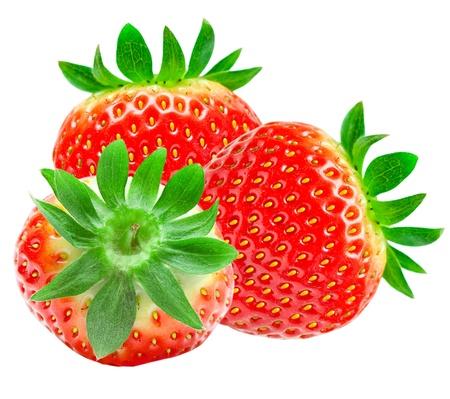 strawberry isolated on white background Stock Photo - 12991283