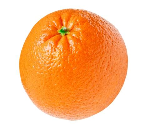 白い背景に分離されたオレンジ