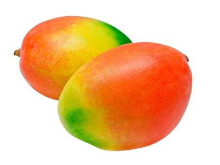 Mango isolated on white background Stock Photo - 13130450