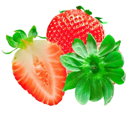 strawberry isolated on white background Stock Photo - 13504587