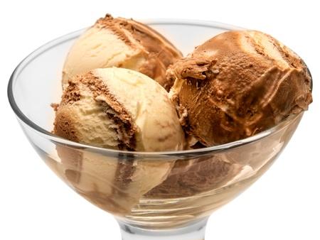 ice cream isolated on white background Stock Photo - 15421845