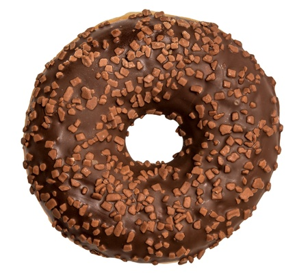 Donut isolated on white background Stock Photo - 17305882