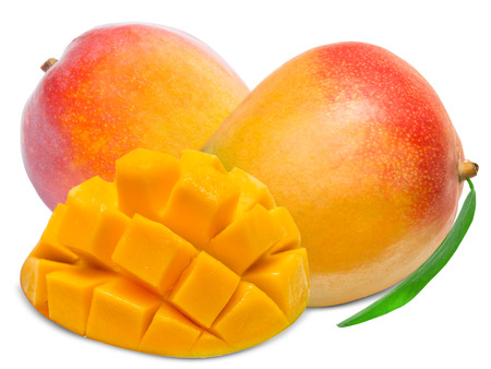 mango isolated: Mango isolated on white background