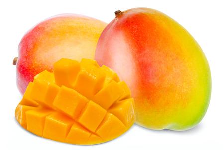 mango: Mango isolated on white background