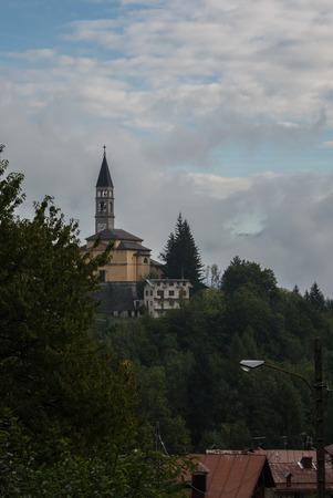 veneto: A view of Cibiana di Cadore in Veneto, Itay