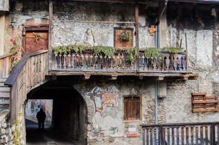 di: Murals in Cibiana di Cadore, Italy Veneto