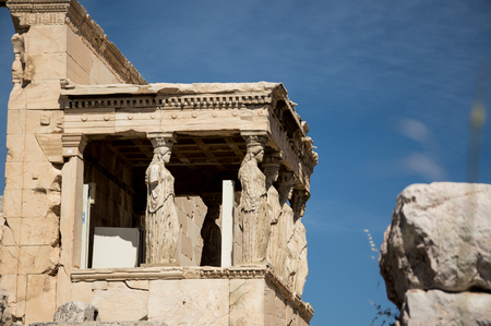 magnificence: The Porch of the Caryatids Acropolis Athens Greece