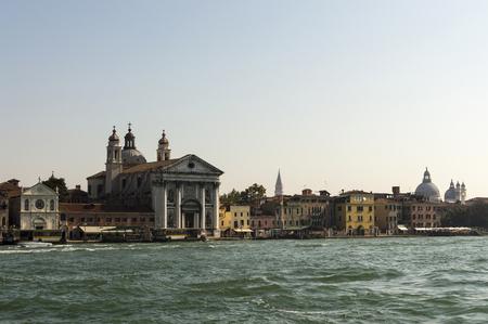 ロサリオの聖マリア教会ヴェネツィアイタリア 写真素材