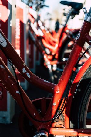 Red bike sharing