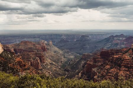 View of the North Rim Grand Canyon, Arizona