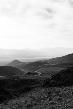 Panamint Springs mountain desert road USA