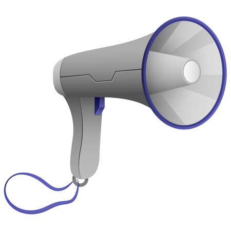 Megaphone. A new cool device that increases the volume of any sounds, for warnings or calls for some action.