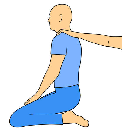 Massage. Yumeiho therapy. Instructions for performing massage techniques, body manipulation.