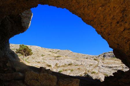 The heart of the mountains, Crimea, Ukraine