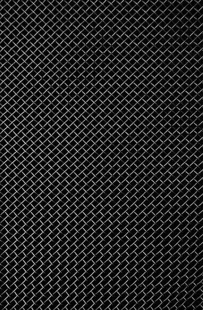malla metalica: la textura de una rejilla met�lica negro