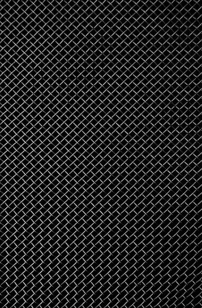 mesh texture: texture of a black metal grill
