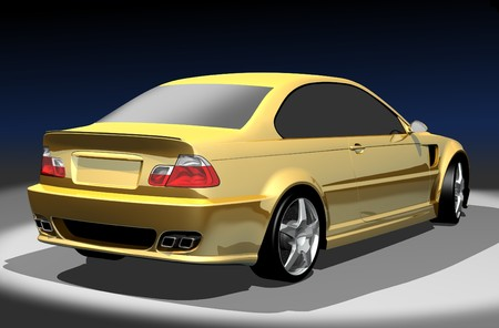 3D render of M3. Redesigned by myself