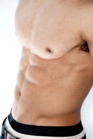 young man abdominals Stock Photo - 13184319