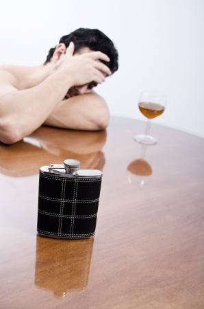 a drunk problems Stock Photo - 15489270
