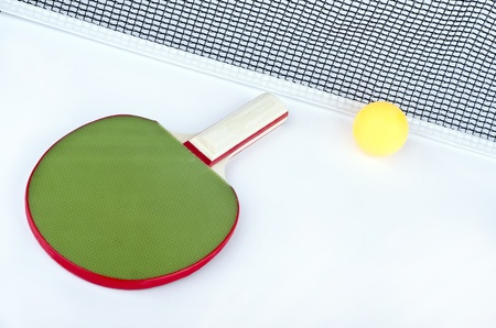 objects of table tennis photo