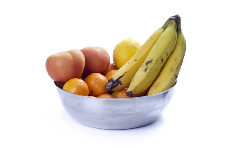 fruit bowl: Fruit bowl Stock Photo