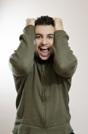 Exited young man Stock Photo - 16764759