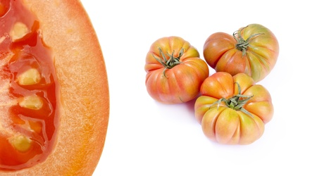 compilation: Tomatoes compilation Stock Photo