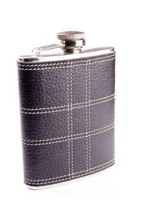 intoxicant: Alcohol flask