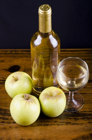 Apple liquor,  Mosto wine  photo