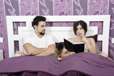 marital: She prefers read.