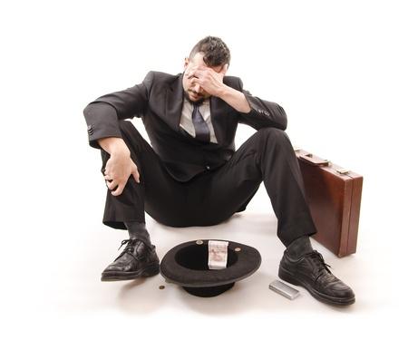 unemployment: Businessman lost his job   Crisis time
