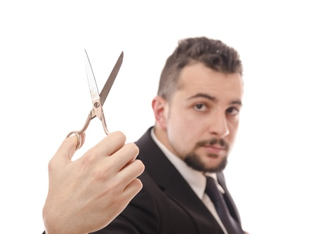 latin man: Economy cuts...or tailor?