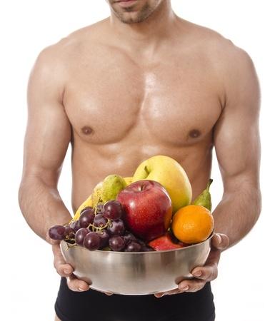 sexy food: Healthy torso